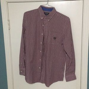 Gingham Long Sleeved Button Down